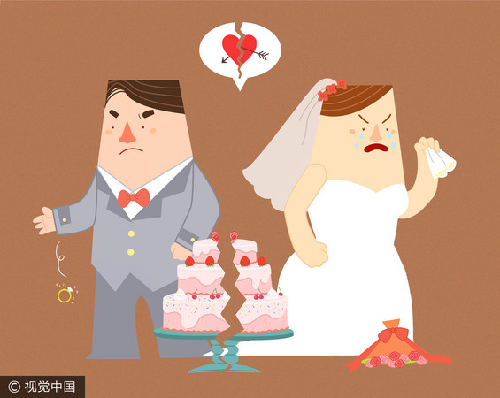 ▲▼離婚示意圖。(圖/CFP)