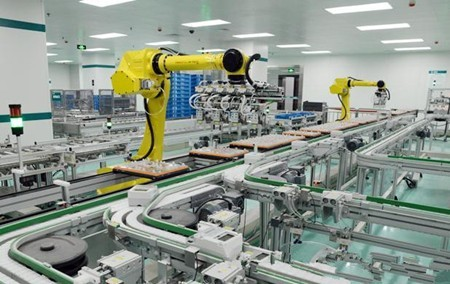 ▲工業生產自動化。(圖/翻攝自OFweek機器人網)