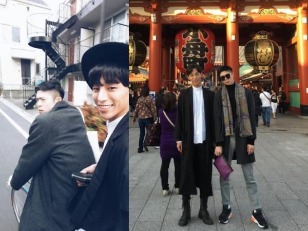 ▲超高顏值男同志CP Taiki&Noah(圖/翻攝自noah_bbb、taiki_jp Instagram)