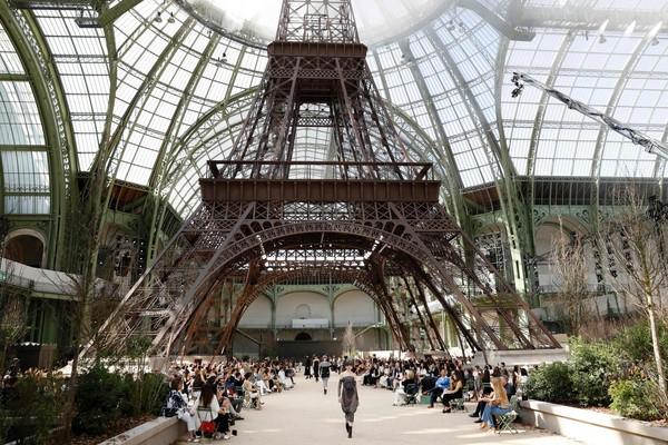 ▲巴黎高訂周--香奈兒。(圖/CFP)