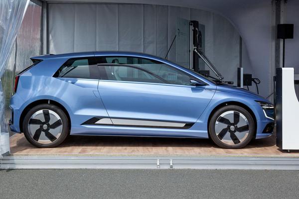 新Golf搶先曝光?福斯Gen.E展示電動車未來樣貌。(圖/翻攝自Volkswagen)