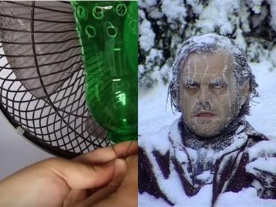 住窮人套房想省冷氣錢? 「電風扇+寶特瓶」讓你吹爽爽