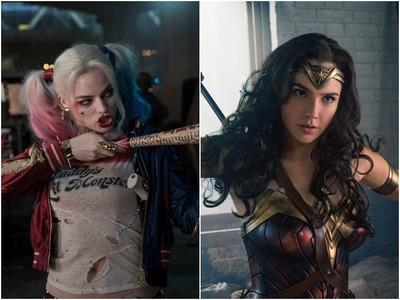 神力女超人vs.小丑女!臉蛋、身材、演技誰能勝出?