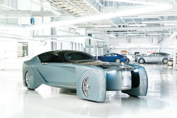 ▲勞斯萊斯不甩油電動力 「越級」開發純電動車!(圖/Rolls-Royce)