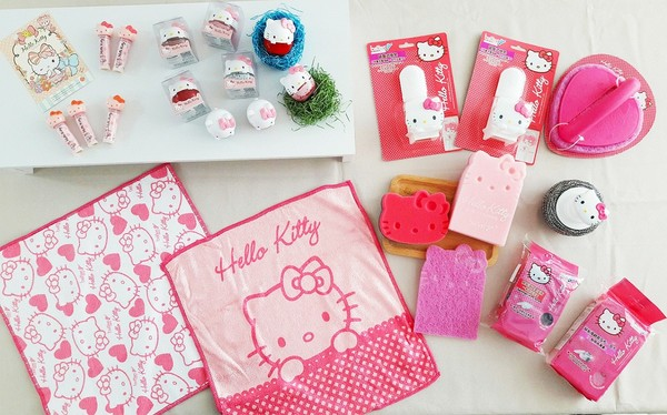 ▲ Kitty生活雜貨系列商品(圖/業者提供)