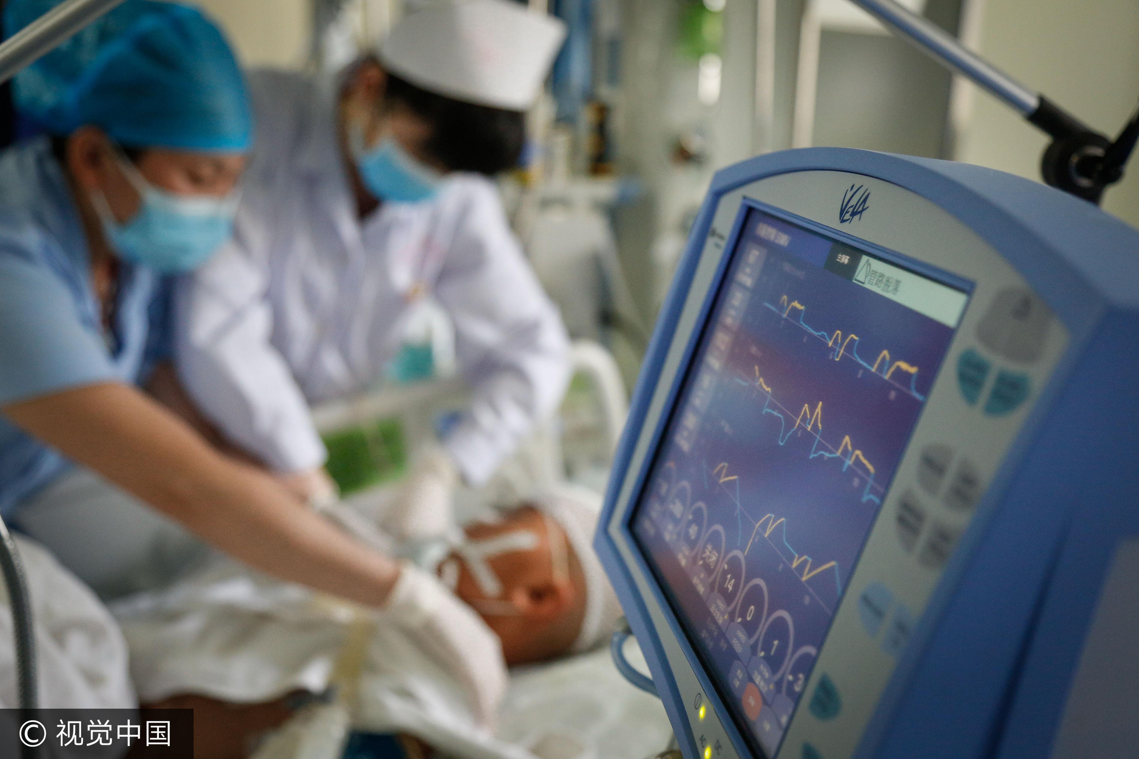 加護病房,急救,重症,護理師。(圖/CFP)