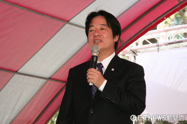 ▲台南市長賴清德表示,通過前瞻基礎建設計畫草案,展現我們積極投資未來的決心,讓台灣更能大步向前,迎接挑戰。(圖/記者林悅攝)