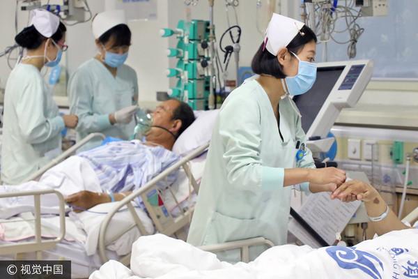 加護病房,ICU,護理師。(圖/CFP)