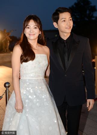 ▲宋仲基和宋慧喬的結婚日期被指藏有真愛密碼(圖/CFP)
