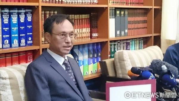 ▲亞非司司長陳俊賢。(圖/記者翁嫆琄攝)