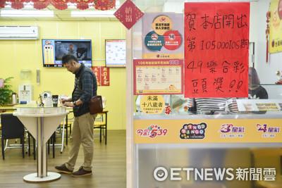 台灣最容易中頭獎縣市 雙北市居冠、高雄財運最旺
