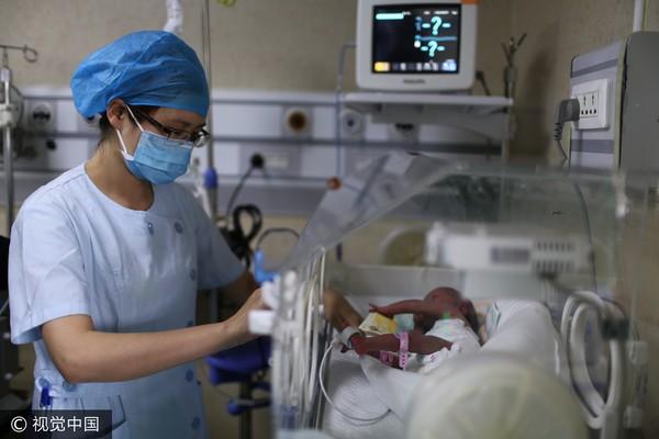 新生兒,孕婦,產檢,早產兒,嬰兒。(圖/CFP)