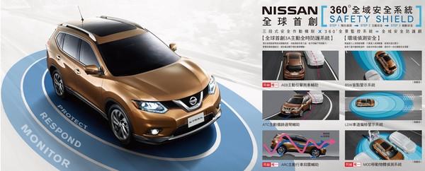 只要88.5萬元起!日產X-Trail標配6氣囊搶打「價格割喉戰」(圖/翻攝自Nissan)