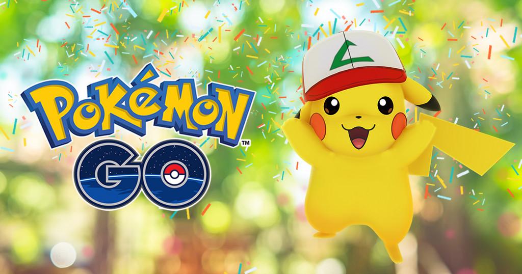 《Pokémon GO》賀上市滿週年!小智帽皮卡丘限期登場(圖/翻攝《Pokémon GO》官方網站)