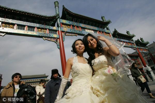 ▲同性婚姻。(圖/視覺中國CFP)