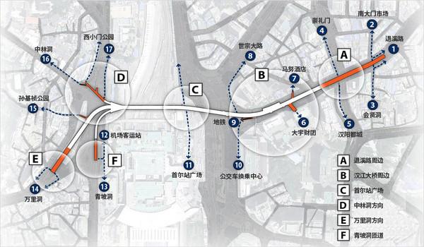 ▲首爾路7017建設圖。(圖/翻攝自首爾7017官網)