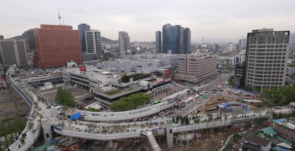 ▲首爾路7017。(圖/達志影像)