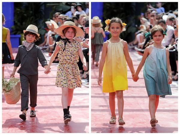 ▲bonpoint法國童裝品牌春夏系列大秀(圖/取自CFP)