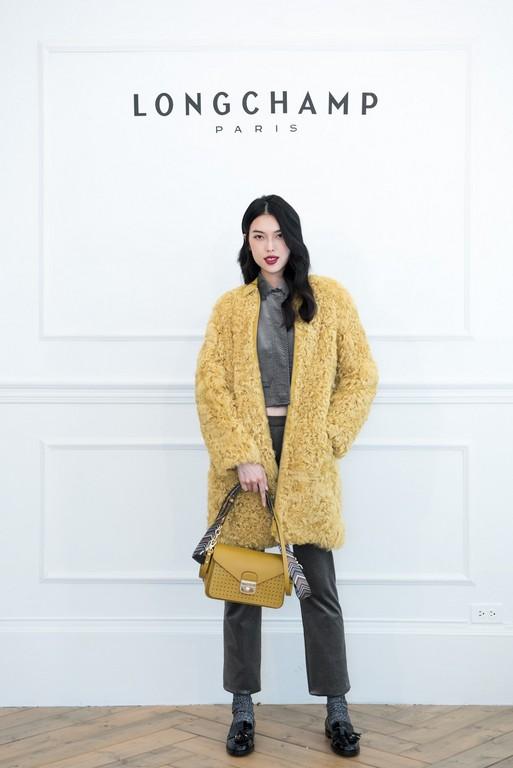 ▲金禧、王思偉、陳詠芯現身LONGCHAMP秋冬發表。(圖/LONGCHAMP提供)