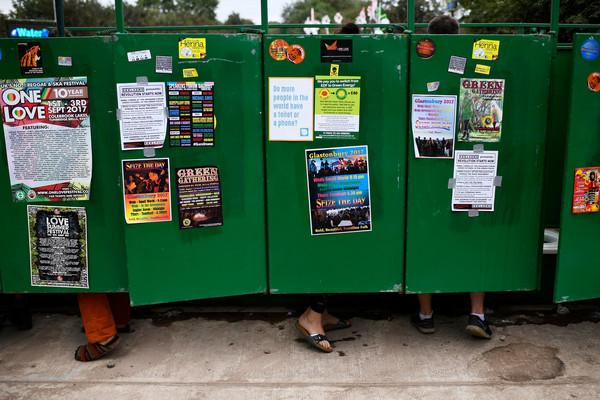 ▲▼格拉斯頓伯里音樂節用尿來發電。(圖/路透社)