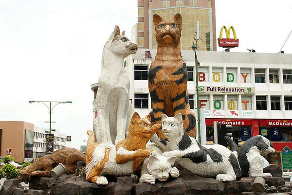 ▲馬來西亞貓城古晉。(圖/維基百科sarawakborneotour)