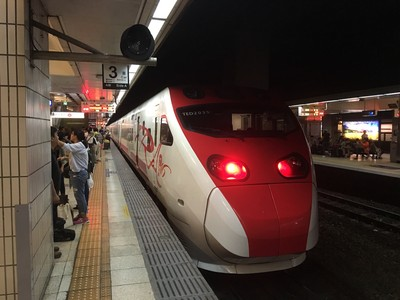 台鐵新竹以北自強號午後起停駛