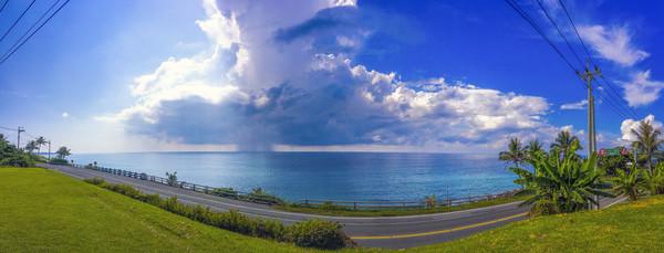 ▲▼台東海岸公路,環景照片,碧海藍天,豔陽,好天氣。(圖/記者姜國輝攝)