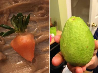 有看過「水果剝皮大全」嗎?綠綠那顆才不是芭樂勒~