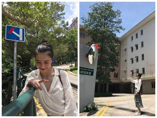 ▲高圓圓香港度假 像在拍雜誌大片(圖/翻攝自全球時尚微博)