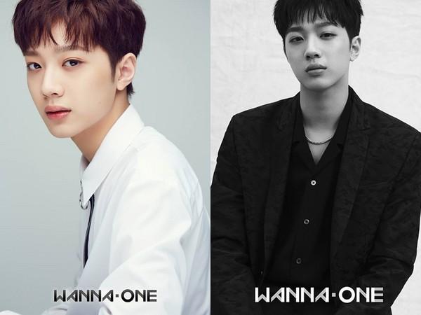 ▲男團Wanna One公開兩組宣傳照,正舉辦配對票選。
