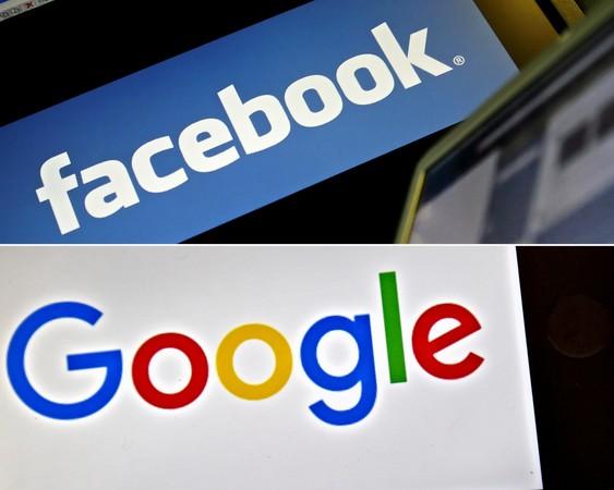 ▲▼美國報業集體抗議Google與Facebook壟斷廣告市場。(圖/CFP)