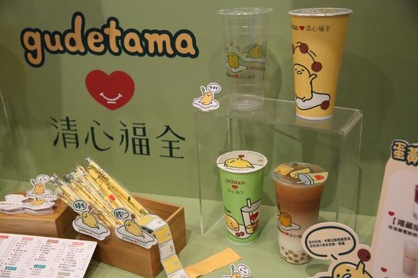 今年4月,清心推出蛋黃哥包裝茶飲,營業額增加了3成。