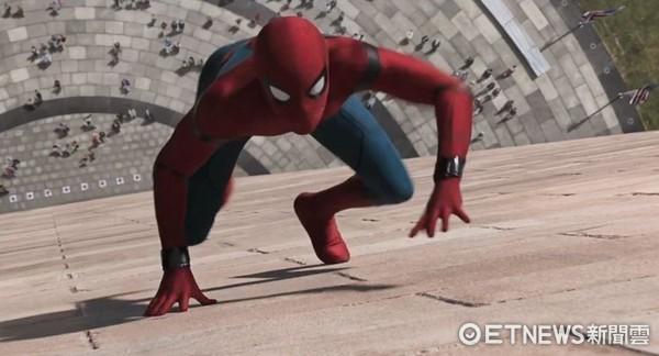 電影《蜘蛛人》劇照  。(圖/friDay影音提供)