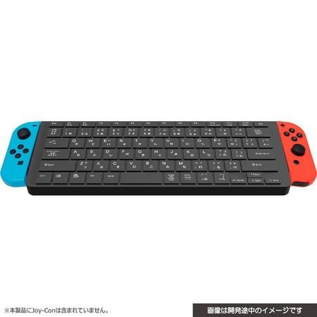 任天堂Switch遊戲打字不再麻煩!專用實體鍵盤9月登場(圖/翻攝自AMAZON.JP)