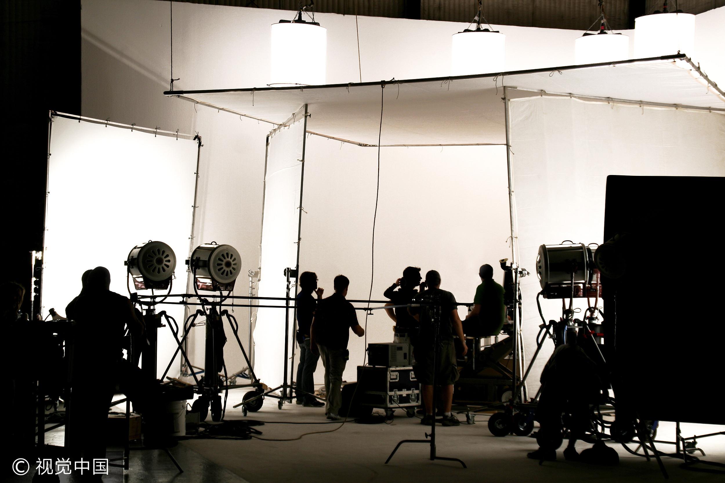▲▼攝影棚,片場,影劇。(圖/視覺中國CFP)