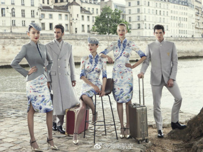 空姐新制服!海南航空推超美「時尚旗袍」 外媒:我們輸了