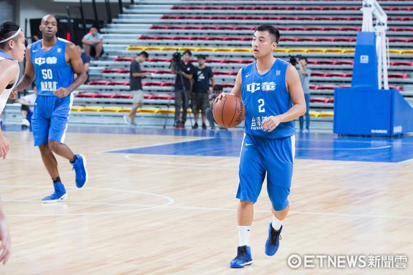▲▼瓊斯盃中華男籃 藍、白隊熱身測試賽,蘇翊傑。(圖/記者季相儒攝)