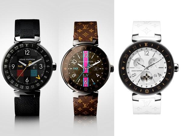 ▲LV智慧型腕錶Tambour Horizon(圖/品牌提供)