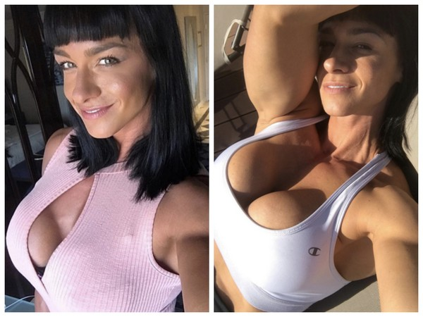 ▲肌肉女模媲美健美冠軍 胸部立體程度嚇死人!(圖/翻攝自cindytraining IG)