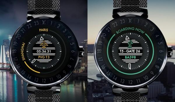 ▲LV發表首款智慧腕錶(圖/品牌提供)