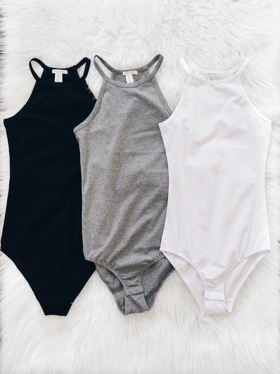 蔡依林超前衛的「泳衣外穿」,歐美其實早在流行,而且意外好搭(圖/網路翻拍)https://www.pinterest.com/search/pins/?q=bodysuits&rs=typed&term_meta[]=bodysuits|typed
