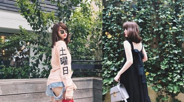 ▲夏日穿搭最強範本!小嶋陽菜的性感時尚。(圖/翻攝自IG)