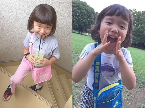 ▲6歲「女版小GD」Coco Hamamatsu(圖/翻攝自coco_pinkprincess Instagram)