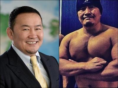 蒙古國「最強壯總統」 臥推100公斤「胸肌比頭大」