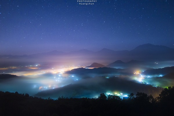 金龍山日出觀景平台。(圖/網友ig chun.huang.18 提供,請勿任意翻攝,以免侵權。)