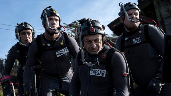安迪席克斯(Andy Serkis)。(圖/《猩球崛起:終極決戰》劇照)