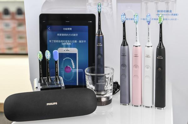 ▲飛利浦推出新款智慧音波震動牙刷。(圖/飛利浦提供)