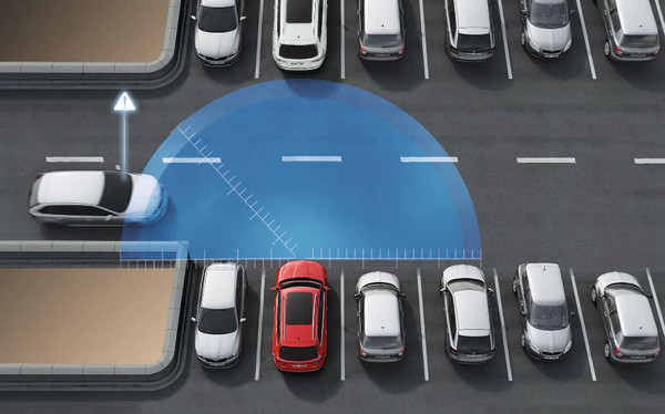 專治不長眼三寶!Skoda推360度全車俯瞰警示系統(圖/翻攝自Skoda)