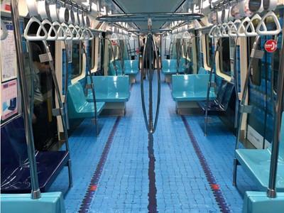 不只游泳池!捷運「世大運車廂」有6種主題 發車時間看這裡