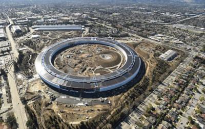 像冰塊在盤子上滑動!Apple Park靠這項技術抵禦地震